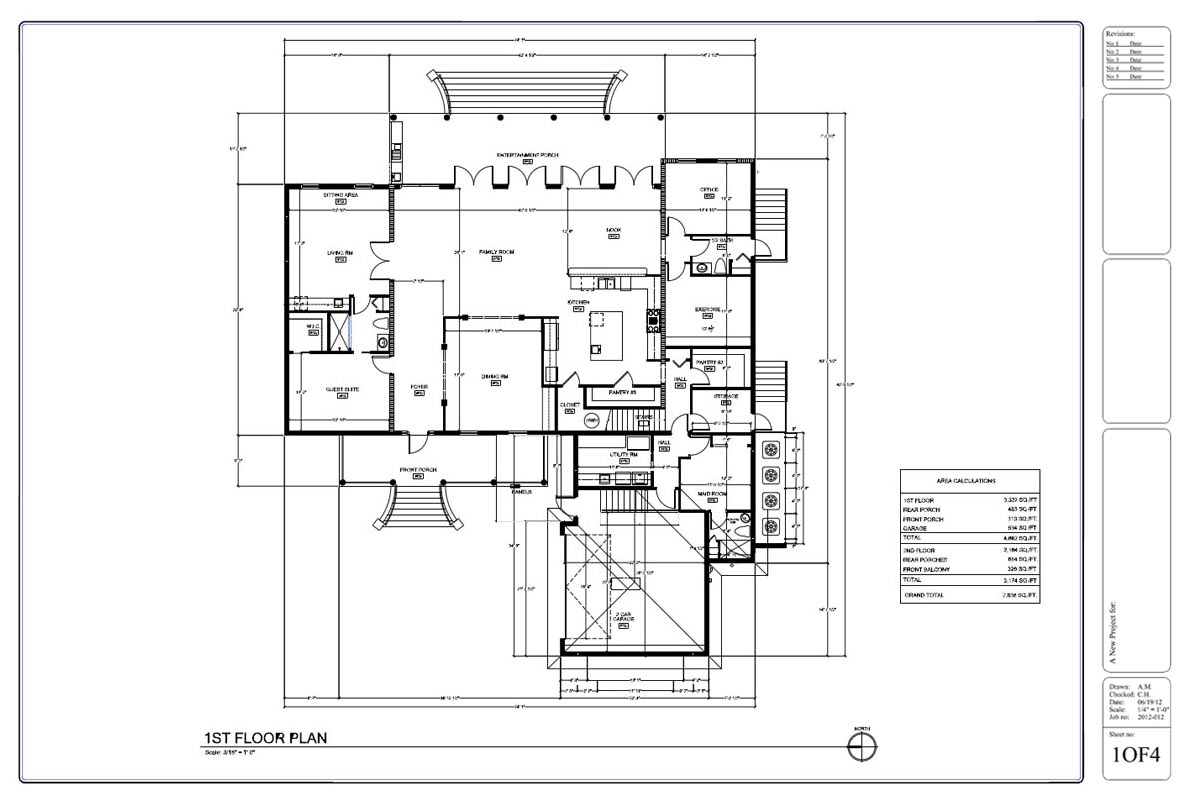 Drafting by ids for House drawing plan layout