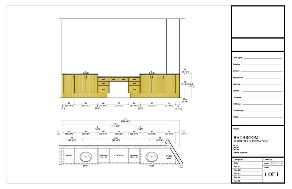 Elevation Plan Template : Drafting by ids
